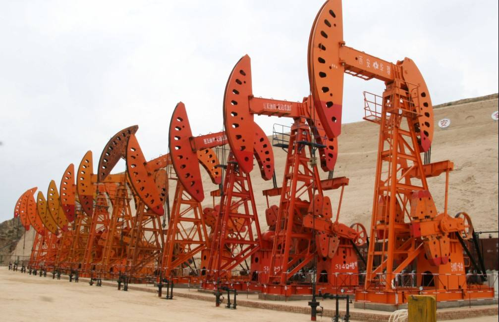 Shaanxi oil field